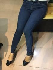 Jean dài nữ cotton thun cao cấp