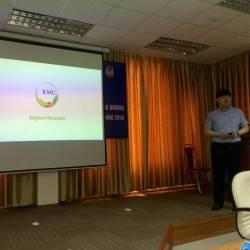 ĐH Kookmin thăm & làm việc với sinh viên ULIS