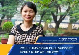 ThS. Nguyễn Hồng Nhung: Chương trình LKQT, đâu phải cứ đóng tiền là học được
