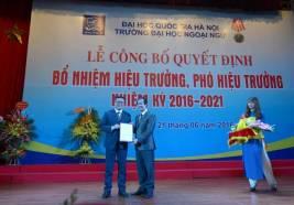 Bài phát biểu của HT Đỗ Tuấn Minh tại Lễ Công bố quyết định bổ nhiệm Hiệu trưởng ngày 21.06.2016