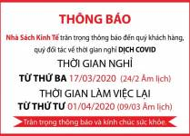 LỊCH NGHI DỊCH COVID