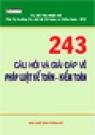 ...  243 Câu Hỏi Và Giải Đáp Về Pháp Luật Kế