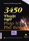 3450 thuật ngữ pháp lý phổ thông