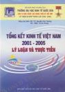 Tổng kết kinh tế việt nam 2001 - 2005 lý luận và thực tiễn