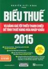 Biểu thuế 2015