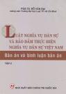 Luật nghĩa vụ dân sự và bảo đảm thực hiện nghĩa vụ dân sự việt nam - bản án và bình luận bản án tập2