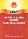 Luật thuế GTGT năm 2008 sửa đổi, bổ sung năm 2013