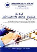 Giáo trình kế toán tài chính Quyển 3 – Tái bản lần 5