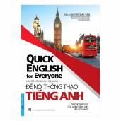 Để Nói Thông Thạo Tiếng Anh