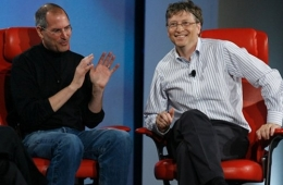 Bill Gates và Steve Jobs
