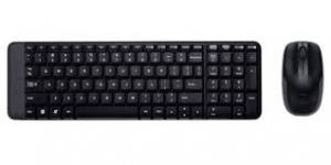Bộ bàn phím + chuột không dây Logitech MK220