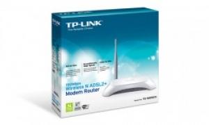Bộ định tuyến Modem ADSL2+ không dây TD-W8901N