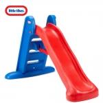 Cầu tuột đơn 168cm màu đỏ xanh