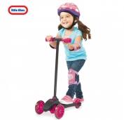 Xe Scooter màu hồng tím