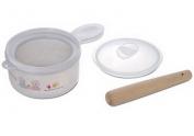Dụng cụ nghiền thức ăn bằng nhựa