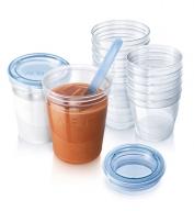 SCF618/10 – Cốc trữ sữa VIA 10 ly