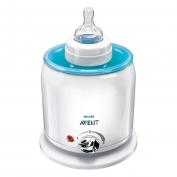 Máy hâm sữa và thức ăn siêu tốc bằng điện SCF255/57