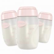 Bình trữ sữa mẹ (bộ 3 bình) Unimom  (Hàn Quốc)