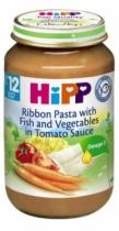 Dinh dưỡng đóng lọ Mì bẹt, cá hồi sốt cà chua (220g)