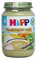 Dinh dưỡng đóng lọ Súp thịt gà, rau tổng hợp (190g)