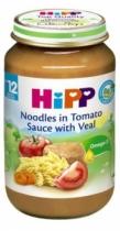 Dinh dưỡng đóng lọ Thịt bê, mì sợi, cà chua (220g)