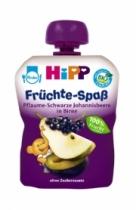 Trái cây nghiền HiPP Fruit Fun vị mận, lê, mâm xôi (90g) font size  decrease font size  increase fon