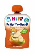 Trái cây nghiền HiPP Fruit Fun vị chuối, lê, xoài (90g)