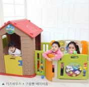 Nhà chơi cho bé kèm nhà banh có nhạc Hàn Quốc Haenim HN760-HNP734M