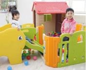 Nhà chơi cho bé kèm cầu tuột nhà banh có nhạc Haenim Hàn Quốc
