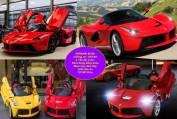 Siêu xe ô tô điện trẻ em Ferrari 82700
