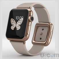 Apple Watch Edition 38mm 18-Karat Rose Gold Case with Rose Gray