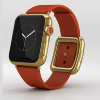 Apple Watch Edition 38mm 18-Karat Yellow Gold Case with Bright Red