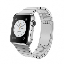 Apple Watch 38mm Stainless Steel Case with Link Bracelet