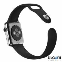 38mm/ 42mm Black Sport Band - Hàng FPT (Full VAT)