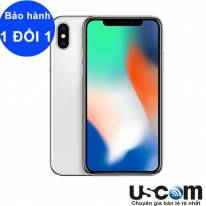 IPHONE X 64GB SILVER ( Mới 99% )