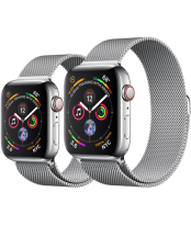 Apple Watch Series 4 40mm Stainless Case Steel with Milanese