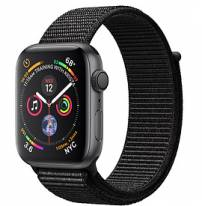 Apple Watch Series 4 40mm Space Gray Aluminum Case with Black Sport Loop (GPS)