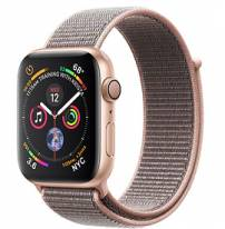 Apple Watch Series 4 40mm Gold Aluminum Case with Pink Sand Sport Loop (GPS)