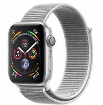 Apple Watch Series 4 40mm Silver Aluminum Case with Seashell Sport Loop (GPS)