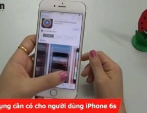 6 ứng dụng cần có cho người dùng iPhone 6s
