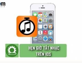 Mẹo hẹn giờ tắt nhạc trên iPhone
