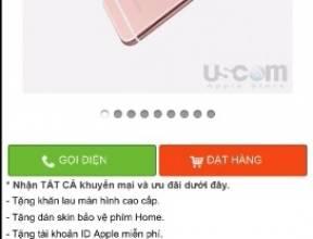 Hướng dẫn cách đặt hàng qua điện thoại trên uscom.vn