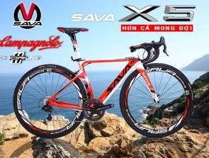 Album Xe đạp đua Carbon SAVA X5