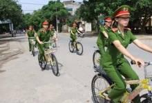 Cảnh sát Hà Nội sẽ tuần tra bằng xe đạp