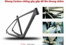 5 vật liệu làm khung xe đạp thể thao hiện nay