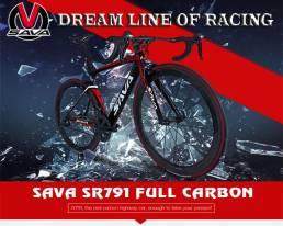 SAVA CARBON SR791 Shimano105_22s