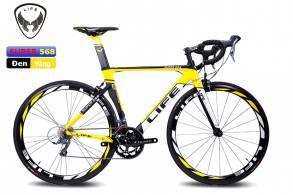 Xe đạp đua Life SUPER568 Shimano Claris2400-16s