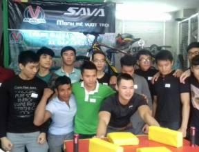 Giải vật tay do SAVA VIỆT NAM tổ chức
