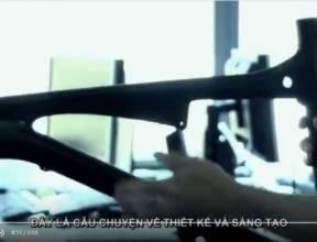 Công nghệ sản xuất xe đạp carbon của SAVA