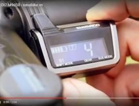 Shimano XTR Di2 M9050-Bộ truyền động điện tử